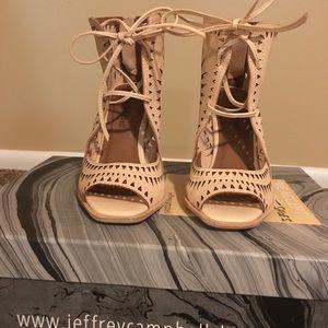 Jeffrey Campbell Shoes - Jeffrey Campbell Rodillo-Hi Wedge Sandal NIB